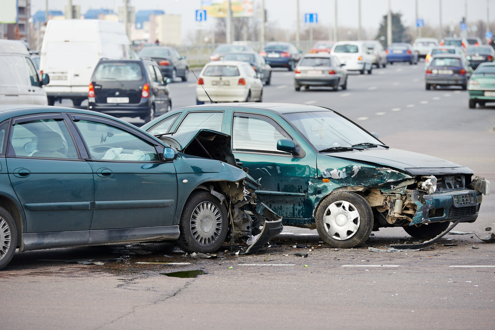 property loss - car accident